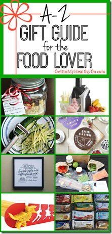 A-Z Gift Guide for the Food Lover