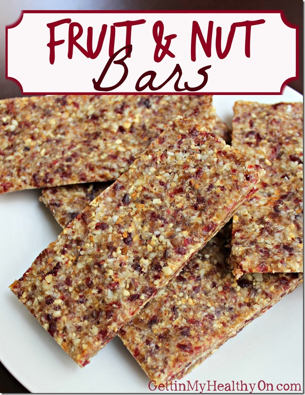 Fruit and Nut Bars