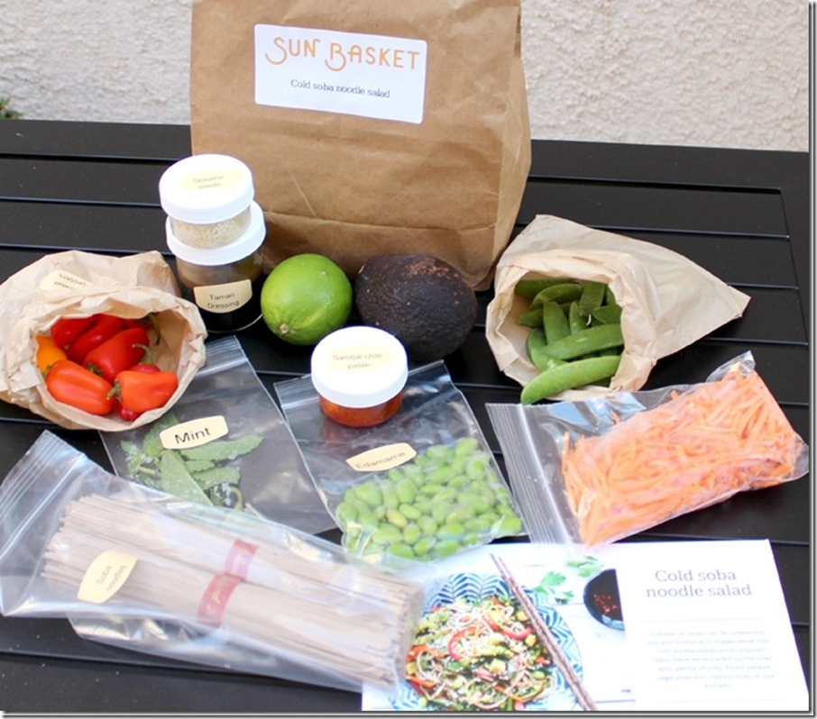 Sun Basket Food Delivery Subscription