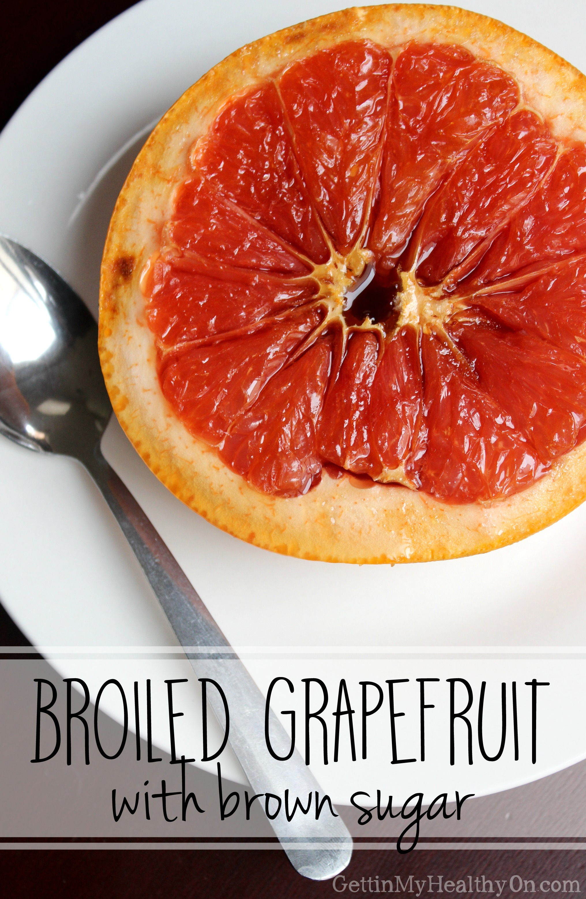 Broiled Grapefruit with Brown Sugar