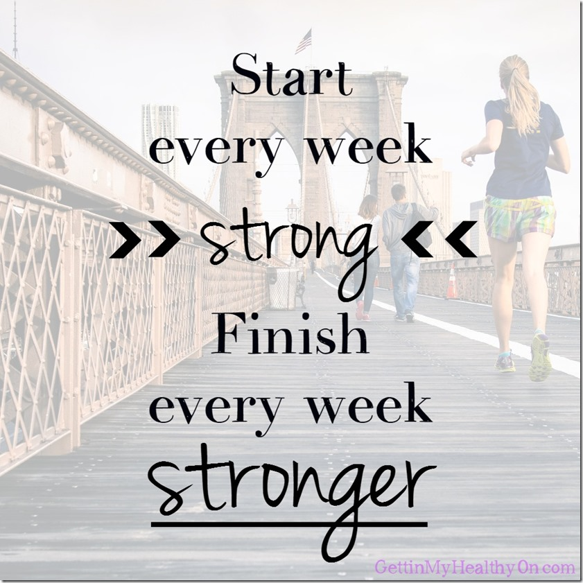 Start Strong Finish Stronger