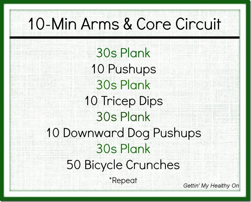 Arms and Core Circuit