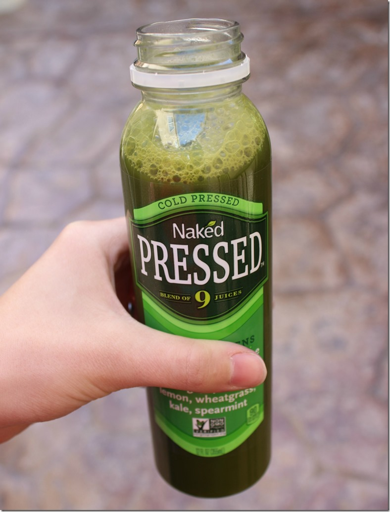 Naked Cold Pressed Juice Heart Greens