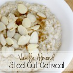 Vanilla Almond Steel Cut Oatmeal