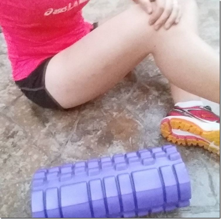 Foam Rolling for IT Band Syndrome