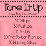 Tone It Up Circuit Workout