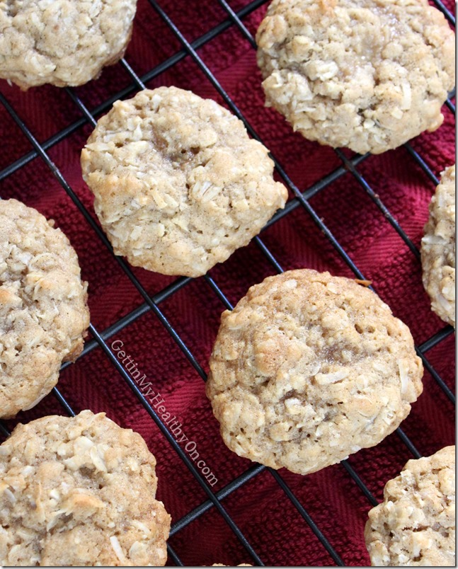 Chewy Coconut Oatmeal Cookie Recipe