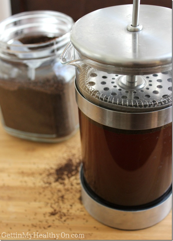 Cold Brew Coffee in French Press