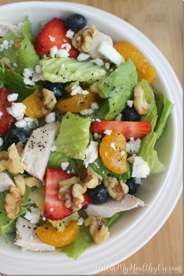 Berry Walnut Chicken Salad