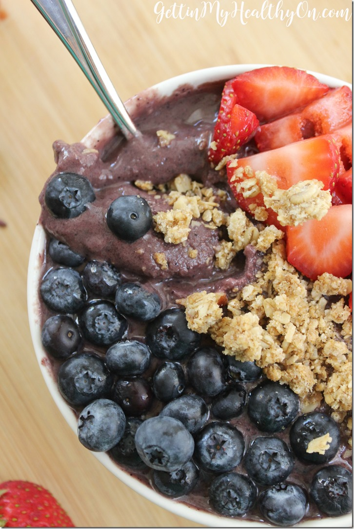 Homemade Acai Bowl