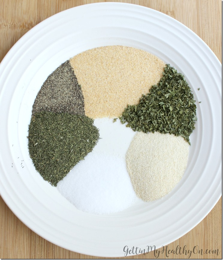 Ranch Seasoning Mix from Scritch
