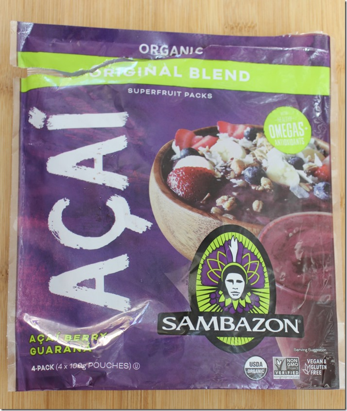 Sambazon Frozen Acai Berry Puree