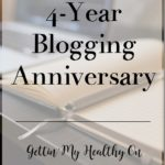 4-Year Blogging Anniversary