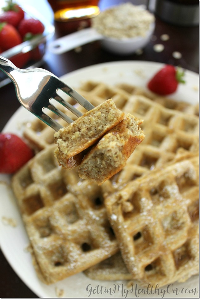 Waffles Made with Oats