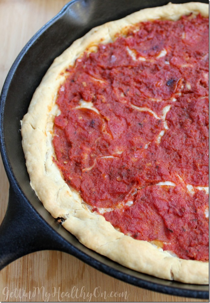 How to Make Deep Dish Pizza