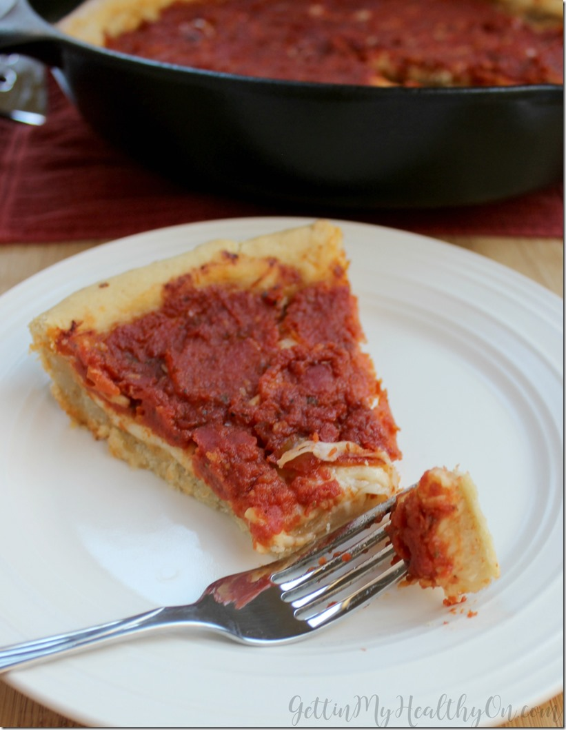 The Best Deep Dish Pizza Recipe