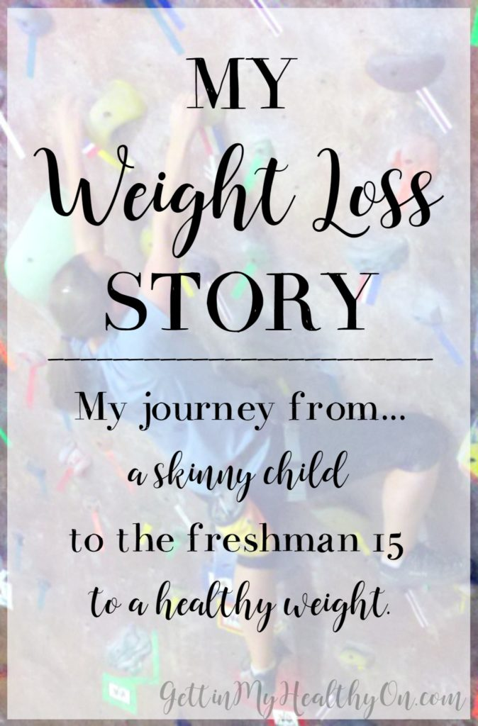 My Weight Loss Story
