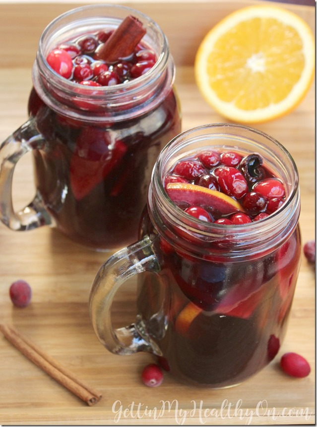 Spiced Cranberry Orange Sangria
