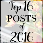 Top 16 Posts of 2016