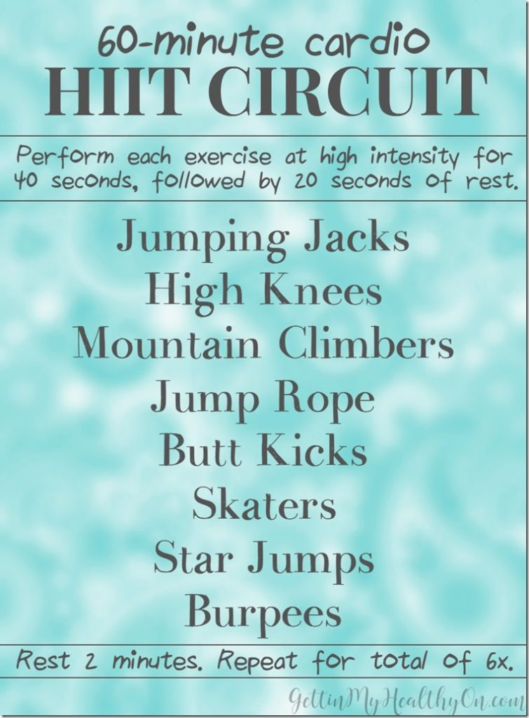 15 Cardio Based Circuit Workouts
