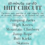 60-Minute Cardio HIIT Circuit Workout