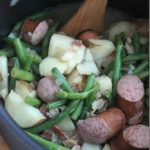 Green Beans, Potatoes, and Sausage One-Pot Meal