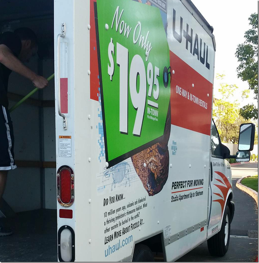 Uhaul for Easier Moving