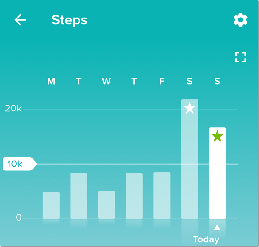More Steps While Moving