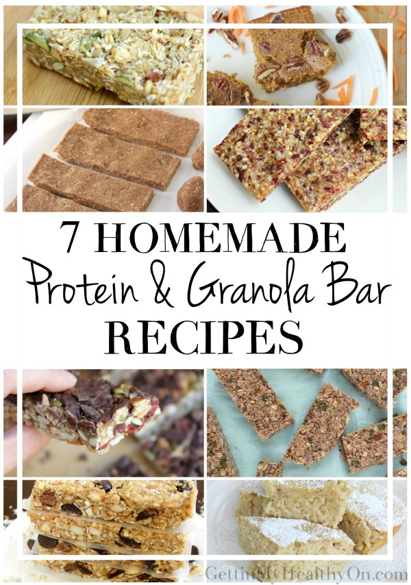 Homemade Granola Protein Bars