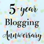 5-Year Blogging Anniversary