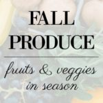 Produce in Season During the Fall
