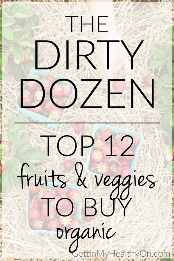 Dirty Dozen List of Fruits and Vegetables