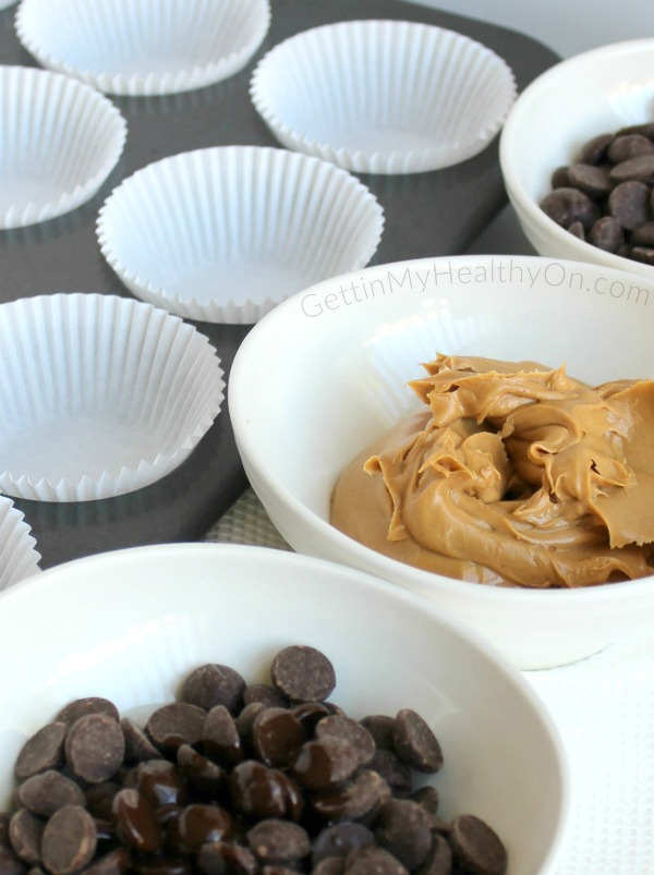 Homemade Peanut Butter Cups Ingredients