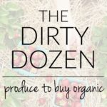 The Dirty Dozen: Top Produce to Buy Organic