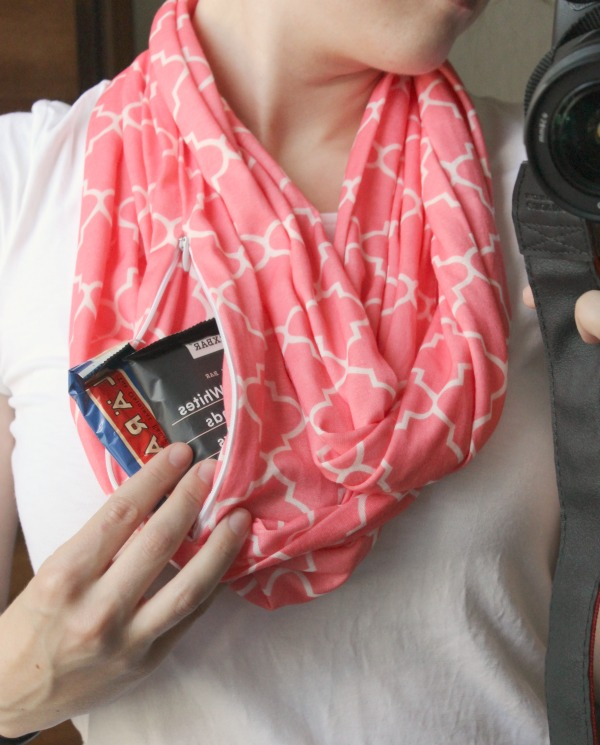 Scarf with a Pocket