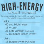 High-Energy Circuit Workout