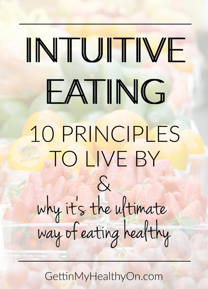 Intuitive Eating Make Peace With Food