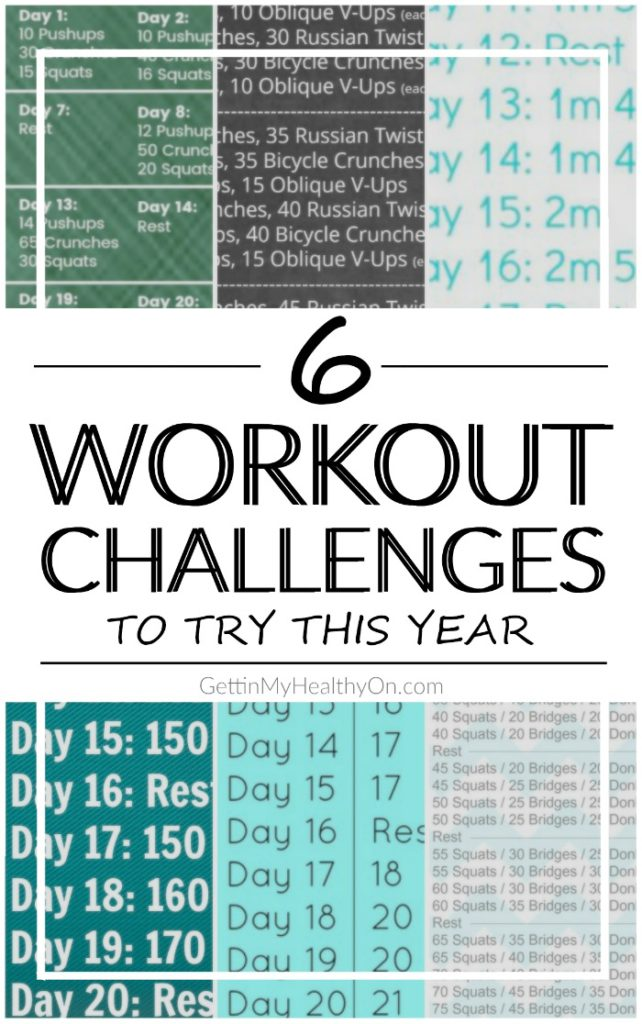Workout Challenges for the Year
