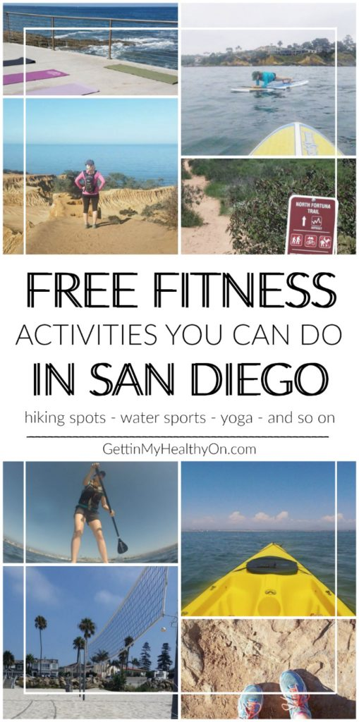 Free Fitness Activities in San Diego